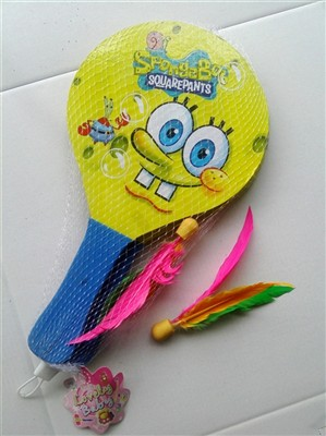 SpongeBob wooden beach rackets