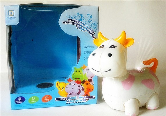 Russian Music electric light universal cartoon cows