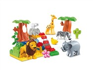 A musical animal building blocks Paradise (48pcs)