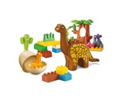 The building blocks Jurassic dinosaur park (28pcs)