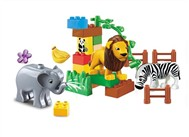 The animals building blocks Paradise (26pcs)
