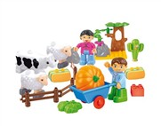 The happy farm building blocks Paradise (29pcs)