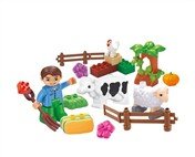 The happy farm building blocks Paradise (26pcs)