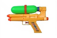 Solid color dual nozzle single bottle of water gun