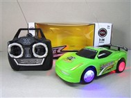 Stone lighting remote control car
