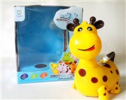 Russian Music electric light universal cartoon giraffe