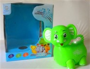 Russian Music electric light universal cartoon elephant