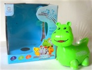 Russian Music electric light universal cartoon hippo