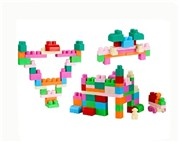 Chunk of children 3D building blocks (42pcs)