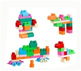 Chunk of children 3D building blocks (27pcs)